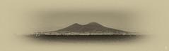 Vesuvio (Eugenio_81) Tags: sea blackandwhite italy panorama vintage landscape monocromo italia mare campania napoli naples vesuvius seafront vesuvio lungomare paesaggio biancoenero golfo viraggio viraggioseppia