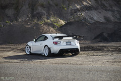 Scion FRS with Rocket Bunny and Enkei RPF1 Wheels (ericvilendrerphoto) Tags: summer japanese sony modified tuner scion lowered jdm modded slammed enkei widebody rwd rpf1 frs superstreet rocketbunny zeiss35mmf14 sonya7ii sonyzeiss35mm14za