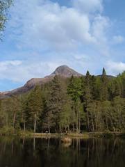 the lochan (ztephen) Tags: forest scotland glencoe lochan