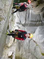P1120404 (Mountain Sports Alpinschule) Tags: blue mountain sports lagoon canyoning zillertal zemmschlucht alpinschule