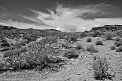 Valley of Fire (simone_a13) Tags: blackandwhite usa valleyoffire monochrome weather landscape unitedstates desert thunderstorm