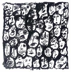 Gesichter (juergen art) Tags: faces massa caras mass masa volume volti lafoule multido kalabalk folla yzler  muchedumbre    dimassa     crowd  faces ktle