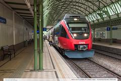 4024 101-0 | S-Bahn 45 20660 | Wien  Krottenbachstrae | Rakousko (jirka.zapalka) Tags: wien train austria town spring sbahn railstation obb rakousko stanice rada4024obb