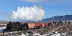 2016 Winter Photo Shoot at Mosier Cut (GRNDMND) Tags: trains railroads museums nevadanorthernry steam locomotive 460 tenwheeler foamers railfans whitepinecounty nevada