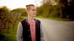Lieblingsmensch (carla_hauptmann) Tags: street boy man outside 50mm spring sony redhead mann junge frhling a77 weinberge f17 rotehaare strase drausen wienyards