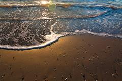 Early morning (Dario Manuppella) Tags: morning sunset sea sun love sunshine sunrise early sand surf wave marche sbt ascoli kyte sanbenedettodeltronto kytesurf