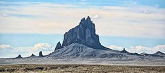 DON'T ROCK THE BOAT (Irene2727) Tags: sky newmexico nature rock landscape outdoor scape shiprock rockformation cloudsoutside