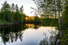 Goodnight (Qvistblomman) Tags: lapland midnightsun