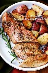 Garlic and Rosemary (alaridesign) Tags: garlic rosemary balsamic roasted pork loin