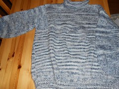Mixed flecked wool sweater (Mytwist) Tags: classic wool fashion vintage knitting craft style passion knitted pullover authentic laine vouge storvik mytwist gkn43
