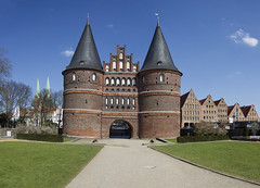 Germany. (richard.mcmanus.) Tags: germany lubeck history holstentor medieval hanseatic old unesco building architecture