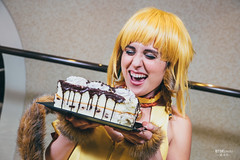 Mew Pudding () (btsephoto) Tags: portrait anime lens hotel tokyo costume texas fuji play cosplay fort iii ant flash north hilton pudding r convention fujifilm worth 1855mm lm fujinon mew  xf ois xt1 f284  yongnuo yn560
