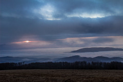zapad1 (Dominika Dan) Tags: morning sky mist tree nature fog canon haze czech lanscape