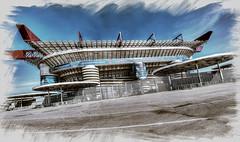 Champions 2016 (fotopierino) Tags: champions league milano 2016 fotopierino milan finale uefa canon 5d mark iii 14mm san siro stadio partita explore