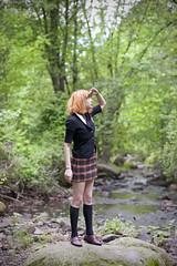 (sarajdsign) Tags: park nyc ny found lost witch wanderlust adventure harajuku greenbelt plaid hogwarts recent wanderer