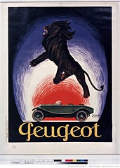1925. Peugeot (Library ABB 2013) Tags: poster bnf franais peugeot 1925 affiche nationallibraryoffrance bibliothquenationaledefrance