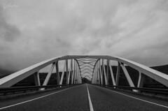 On the road (J Fuentes) Tags: bridge bw blancoynegro puente monocromo blackwhite flickr save granada lanjaron tablate