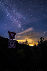 Right Turn (Bun Lee) Tags: longexposure trees canada mountains nature stars landscape landscapes bc nightscape britishcolumbia galaxy astrophotography nightscapes galactic milkyway nightskies bunlee bunleephotography