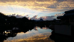 20151001_191618 (Passport to the Parks) Tags: sunset epcot dusk monorail