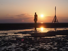 Another Place - Crosby Beach Sefton - Sir Anthony Gormley 3 (flamesworddragon) Tags: anotherplace crosby beach sefton siranthonygormley gormley