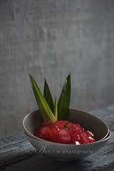 kolang kaling / arenga pinata (asri.) Tags: foodphotography 2016 105mmf28 fruitsvegetables foodstyling darkbackdrop