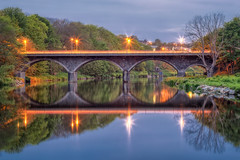 Persley Bridge @ Blue hour.jpg (___INFINITY___) Tags: longexposure bridge colour reflection night canon river eos scotland nightscape infinity aberdeen don bluehour 6d riverdon persleybridge darrenwright dazza1040
