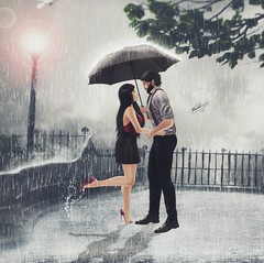 It Will Rain  (Pablito Henzel) Tags: life game love rain photoshop photography photo photographer amor avatar chuva manipulation secondlife jogo segundavida