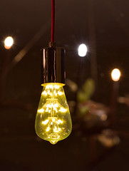 Yellow Bulb (Jean-Paul Granier) Tags: light lamp yellow bulb night ampoule nocturne