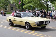 IMG_2825 (marylea) Tags: classic car yellow community classiccar michigan parade firebird pontiac dexter memorialday 2015 may25 memorialdayparade washtenawcounty