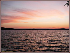 After sunset (PeepeT) Tags: sunset summer lake kes jrvi auringonlasku