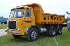 1964 AEC Mammoth Major 'Wimpy' reg 408 GLO (erfmike51) Tags: tipper lorry wimpy rigid aecmammothmajor aecrally2016