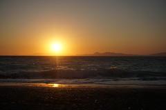DSC00678 (JasonSwindells) Tags: travel sunset sun tourism beach hellas tourist greece rhodes rhodos a6000