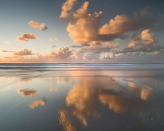 North Devon (peterspencer49) Tags: uk reflection clouds reflections coast devon coastline coastalpath northdevon devoncoast peterspencer peterspencer49