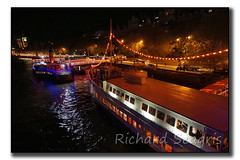 Thames Tour Boats (seagr112) Tags: uk england london night lights promenade thamesriver tourboats