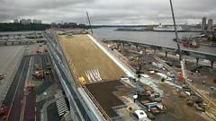 Vrtaterminalen (skumroffe) Tags: port harbor pier construction sweden stockholm harbour baustelle cruiseship bygge pir hamn vrtahamnen byggarbetsplats siljaterminalen vrtan kryssningsfartyg vrtapiren vrtaterminalen
