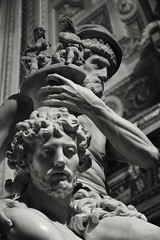 Enea, Ascanio e Anchise, Gian Lorenzo Bernini- Roma (martinatrotta) Tags: blackandwhite bw sculpture roma photo nikon marble bernini barocco galleriaborghese gianlorenzobernini