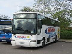JAZ 6917 (markkirk85) Tags: new travel bus ex buses volvo 350 premiere peterborough jaz milken cwmbran mwo plaxton cleverly 6917 81995 n808 b10m62 n808mwo jaz6917