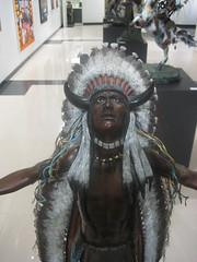 Original Artwork... (goldiesguy) Tags: goldiesguy museum artwork bronze statue statues sculpture sculptures indian art