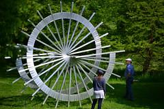 Wheely good! (uplandswolf) Tags: sculpture sculpturegarden burghley