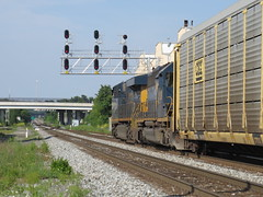 Baltimore 2016 CSX Autorack Train L217 (wheeltoyz) Tags: city harbor md maryland crab charm baltimore inner orioles