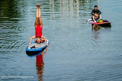 As easy as standing on your head (Paul Henman) Tags: toronto ontario canada photowalk centreville torontoislands 2016 torontointernationaldragonboatracefestival topw paulhenman torontophotowalks httppaulhenmanphotographycom topwdbrf16