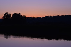 Sunset Silhouette (careth@2012) Tags: