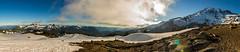 Mt. Rainier National Park (2.OS.GS.4) Tags: trees sky panorama mountain snow clouds landscape washington nationalpark hiking adventure explore rainier mtrainier pnw