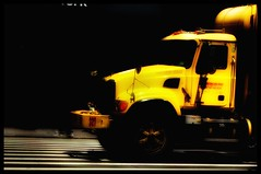 It's The Power of Colour. (oxford_don1a) Tags: new york city nyc yellow truck transport