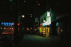 ' (june1777) Tags: street light 2 night 35mm t fuji ar superia snap 400 seoul konica pushed f28 autoreflex xtra hexanon nagwondong
