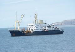 THV Patricia (fannyfadams) Tags: uk ship trinityhouse breakwater irishsea anglesey northwales holyhead buoytender thvpatricia