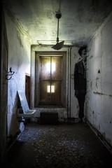 Ghosts of Ellis (George Corbin) Tags: newyork hospital ellis decay ruin statueofliberty immigration immigrant ellisisland urbex georgecorbin