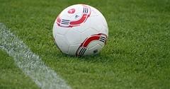 """Der Ball. Die Bälle. Genauer: Der Fußball. Die Fußbälle. Der Fußball liegt auf dem Rasen. • <a style=""""font-size:0.8em;"""" href=""""http://www.flickr.com/photos/42554185@N00/27778773385/"""" target=""""_blank"""">View on Flickr</a>"""