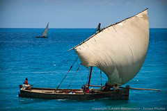 Zanzibar Dow (3scapePhotos) Tags: africa tanzania boat continent dhow dow island safari sailboat stone town zanzibar