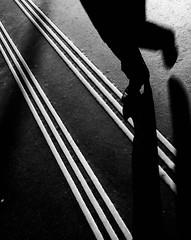 Step by Step (Dan-Schneider) Tags: street streetphotography schwarzweiss step schneider shadow scene urban europe human zurich blackandwhite bw best moment mft monochrome minimalism mood light lines olympus flickr